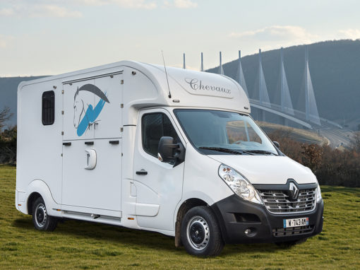 Camion chevaux modèle stalle – RENAULT MASTER III DCI 165