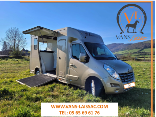 DISPONIBLE – Superbe occasion ! RENAULT MASTER 125 ch – 68 000 km